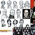 Aux actes citoyens - 24èmes rencontres théâtrales de tomblaine 54- caricaturiste en ouverture de soirée