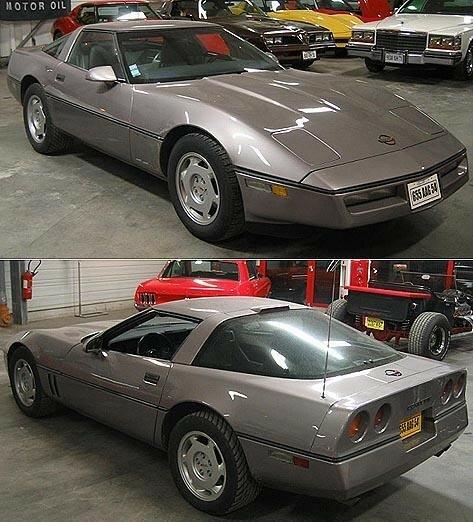 CHEVROLET - Corvette Coupé - 1988