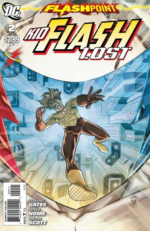 flashpoint kid flash lost 2