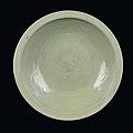 A longquan celadon porcelain plate, china, yuan dynasty (1279-1368)