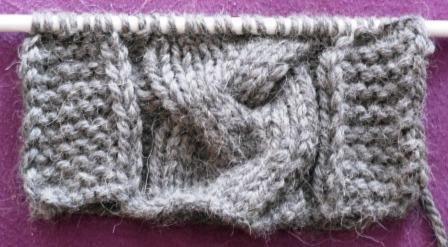 Apprendre a tricoter une echarpe avec torsade - Tricoter une echarpe homme ...