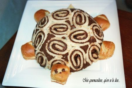 Gateau tortue nutella