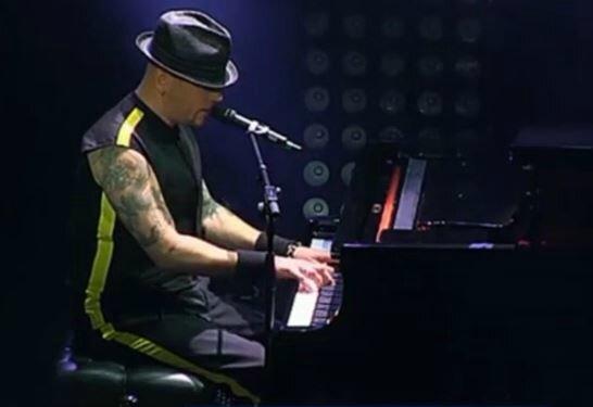 Pascal Obispo au concert anniversaire VIP RFM