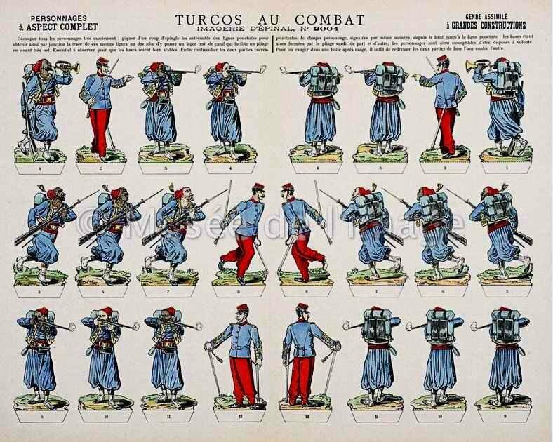 Turcos au combat