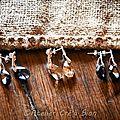 Boucles d'oreilles argent 92.5%/swarovski