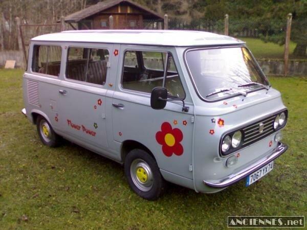 FIAT 850 T Minibus 7 Places - 1976