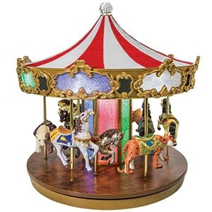 Carrousel musical miniature Mr Christmas 19980