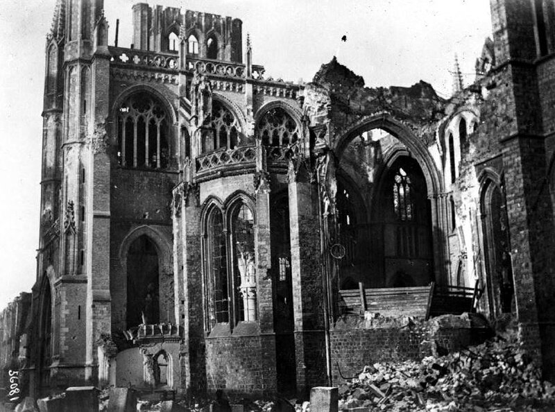 Ruines Cathéd St Martin Ypres2