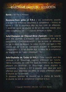 Pack de cartes - Les Baronnies du Lion - baronnie_du_lion-allmoon