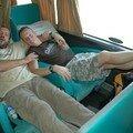 Le bus cama pour aller de Buenos Aires a San Carlos de Bariloche