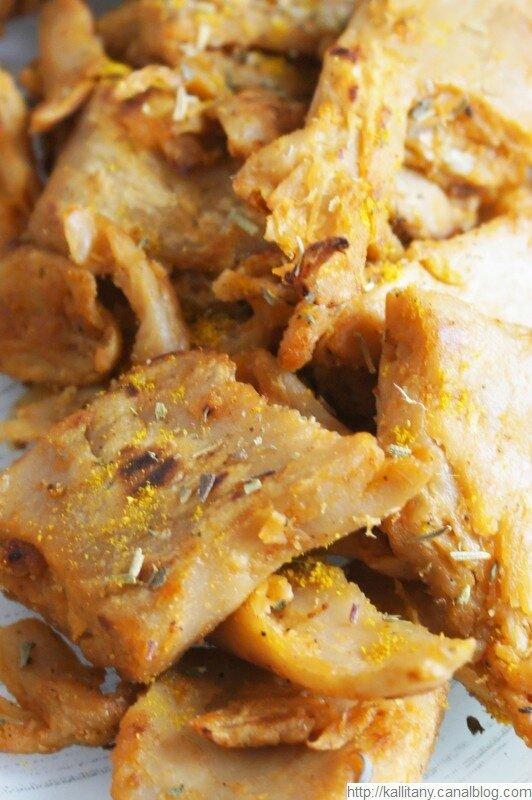Substitut viande - viande végétale - Aiguillettes Vegan Deli (4)