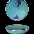 Bol en grès Jun, Chine, Dynastie Jin-Yuan, XIIème-XIIIème siècle
