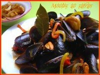 moules au safran index