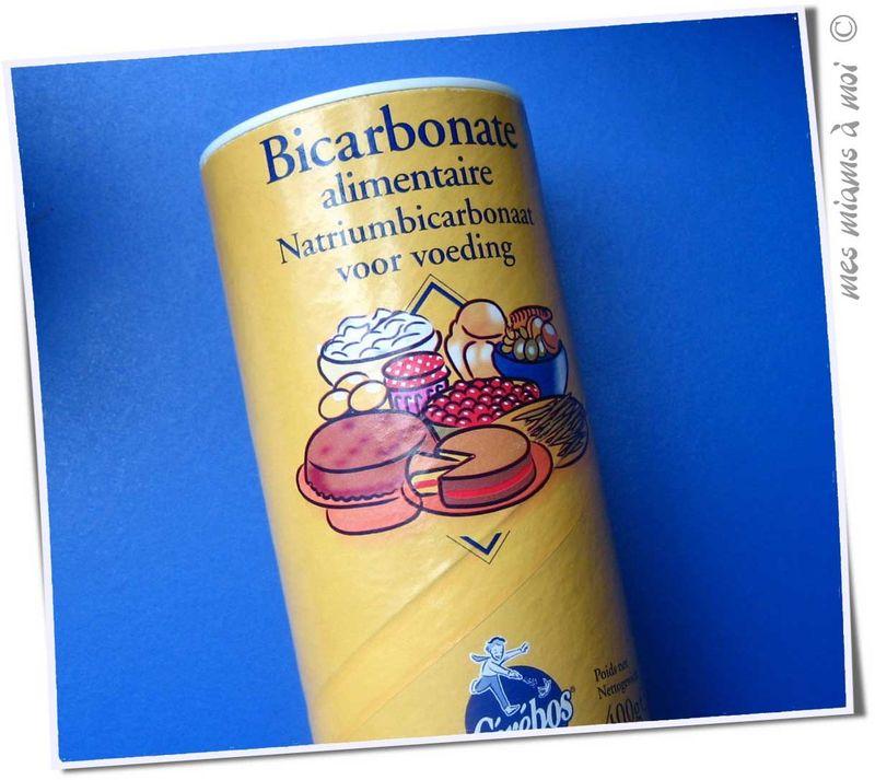 bicarbonaat in voeding