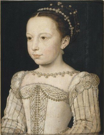 Marguerite de Valois en 1561 (Chantilly)