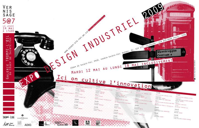 Affiche style industriel