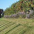 Laquenexy, côté jardin