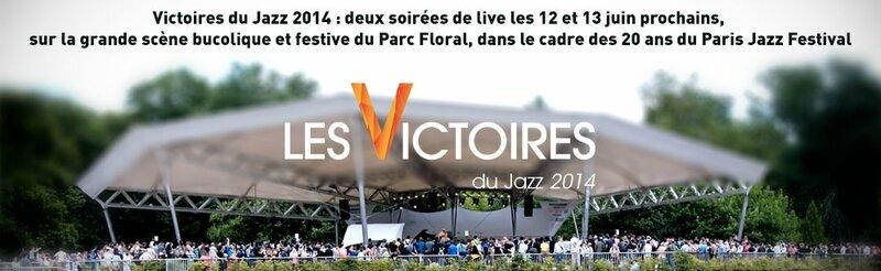 Victoires du jazz 2014 au parc floral