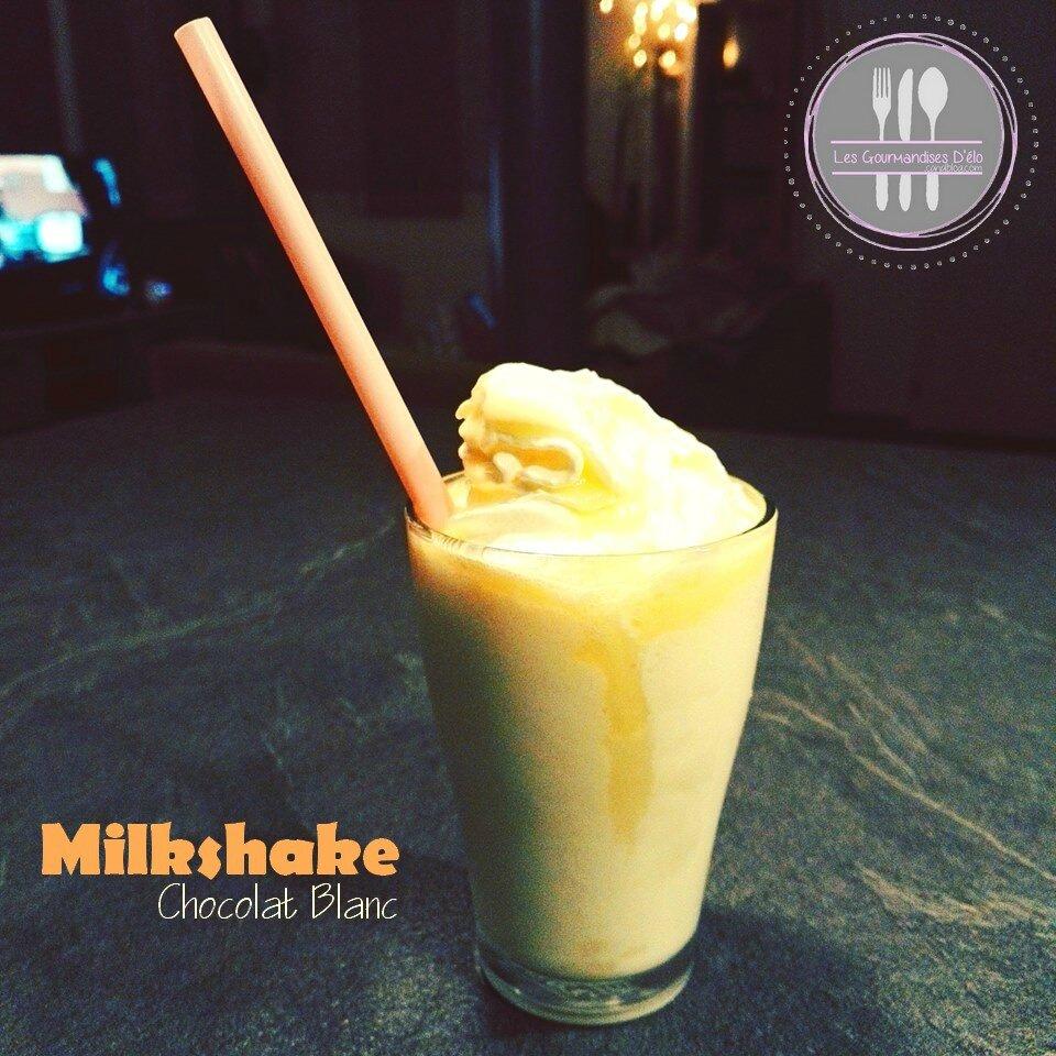 Milkshake Chocolat Blanc