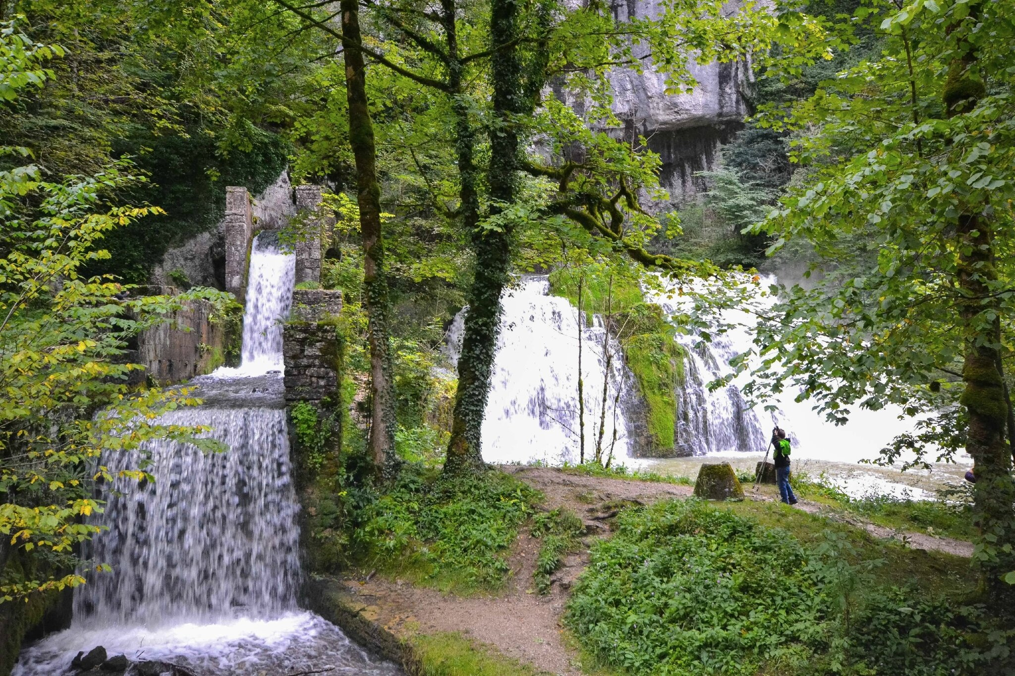 La source du Lison (Jura)