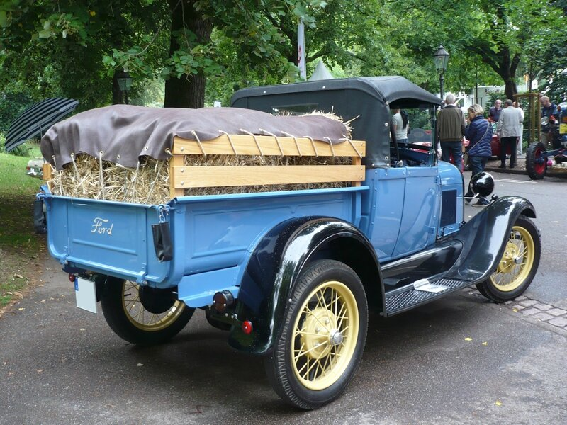 FORD Model A roadster pick-up 1928 Baden Baden (2)