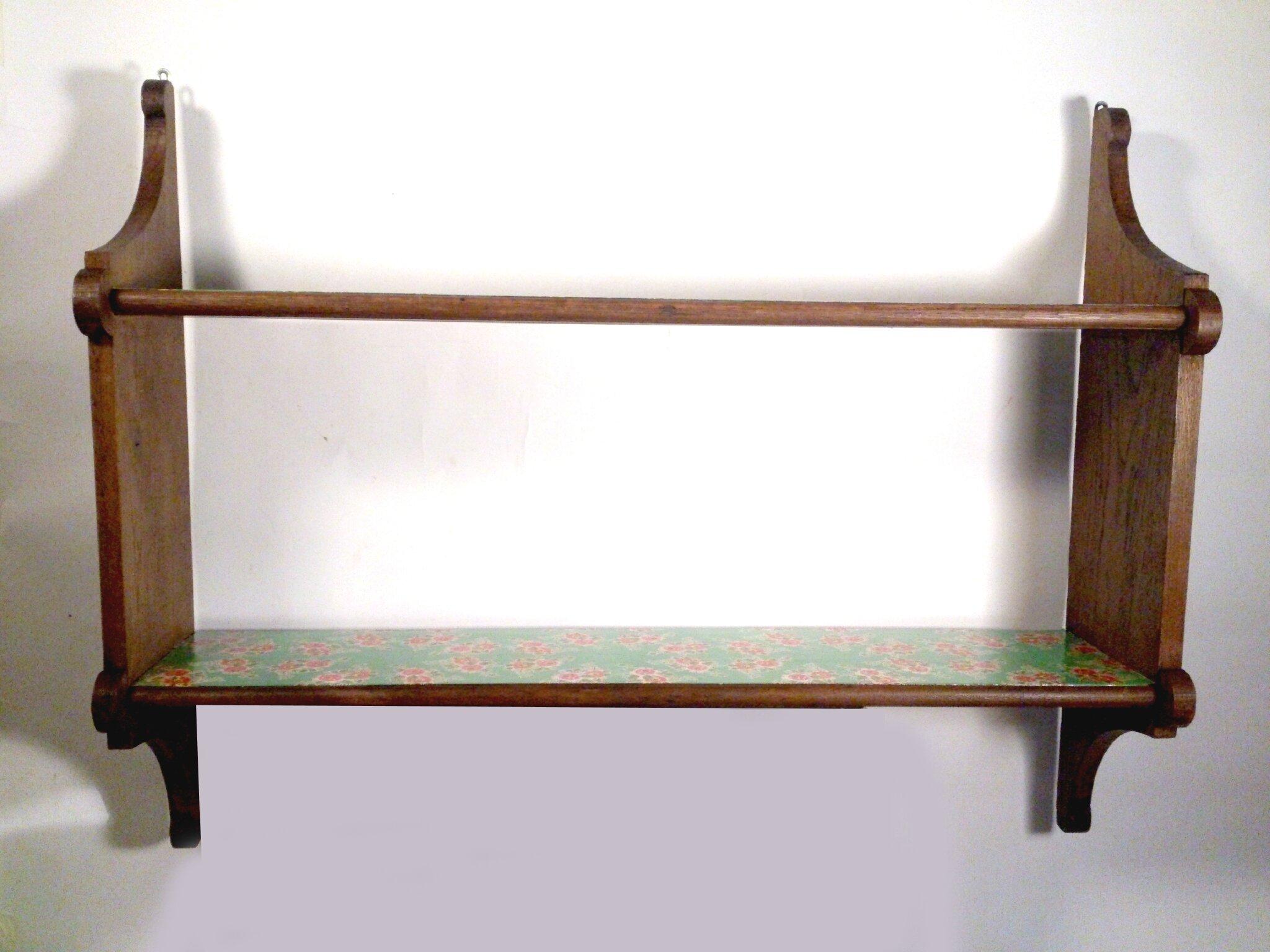 étagère longue papier vert (1)