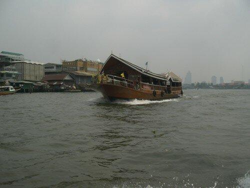 Bangkok, sur l'eau
