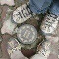 Nos pieds a Hue, Vietnam