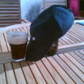 Parasol à bière, par Mike