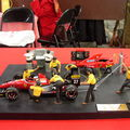 Jean Alesi aux stands