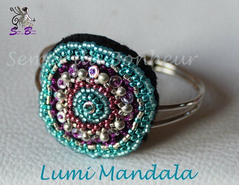 Bracelet lumi Mandala 1