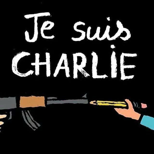 Je suis CHARLIE - Soutien à Chalie Hebdo