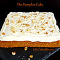 The pumpkin cake