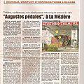 Revue de presse - augustes pedales 2012
