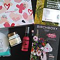 Birchbox avril 2017, poésie d'avril