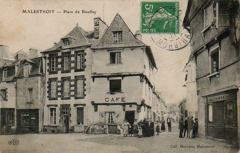 CPA Place du Bouffay
