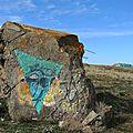 Tarnos, champ des blockhaus, visage de pierre (40)