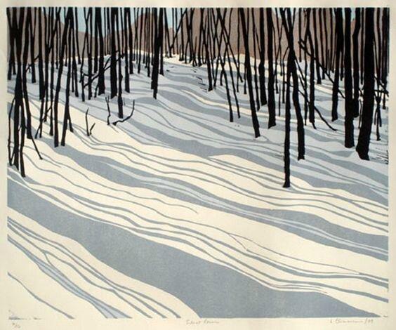 ombres sur la neige - Loralie Clemmensen - Silent Cover