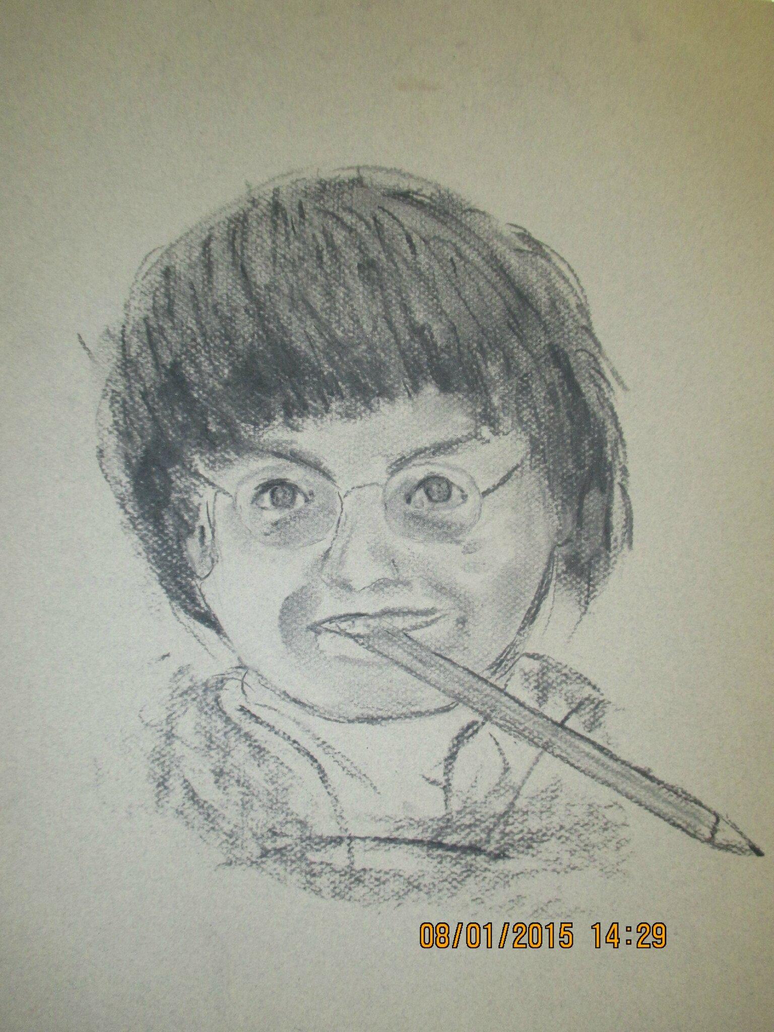 """un dessin imaginé en vitesse c'est ma façon de lui rendre hommage, je me souviens de ces dessins de """"dorothée"""""""