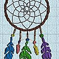 Broderie machine : dreamcatcher