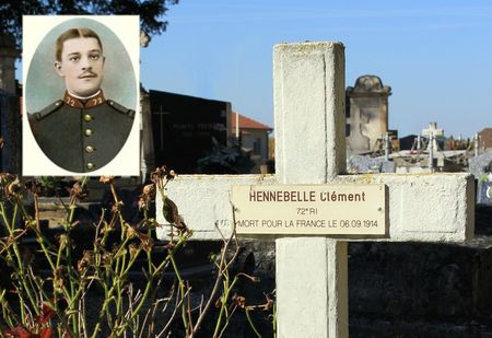 tombe clément hennebelle 72e ri le buisson(m)