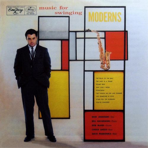 Dick Johnson - 1956 - Music for swinging Moderns (Emarcy)