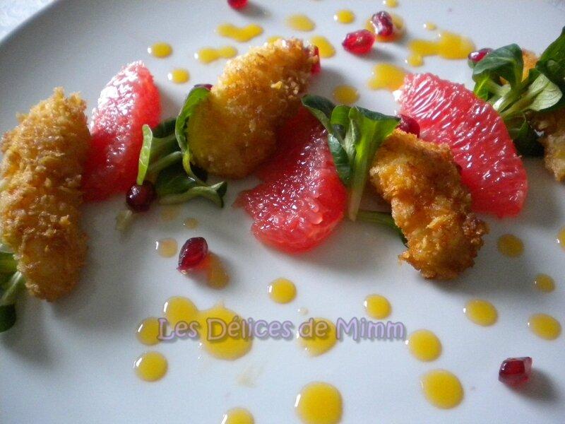 Langoustines croustillantes au beurre d'agrumes 5