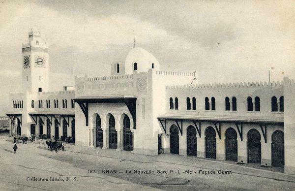 Oran- La gare PLM 25