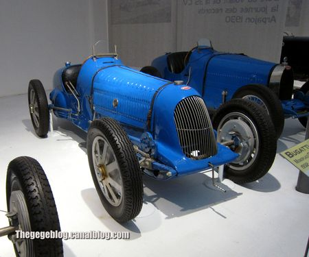 Bugatti type 51A monoplace GP de 1932 (Cité de l'Automobile Collection Schlumpf à Mulhouse) 01