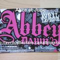 Carte postale promotionnelle Abbey Dawn