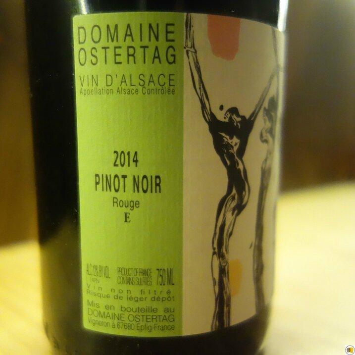 Domaine Ostertag Pinot noir 2014