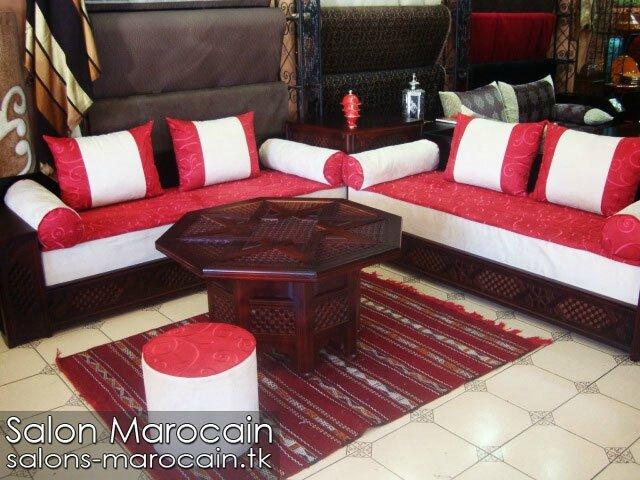 Excellent Salon Marocain En Cuir Salon Marocain Moderne With Salon Marocain  Dreux
