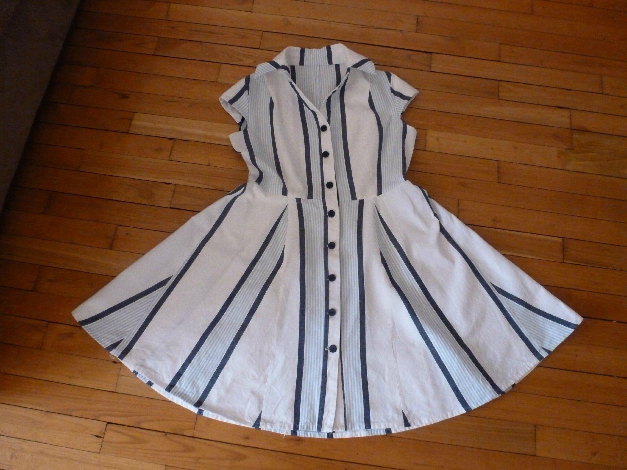 Ma collection capsule #8 ou ma robe chemisier