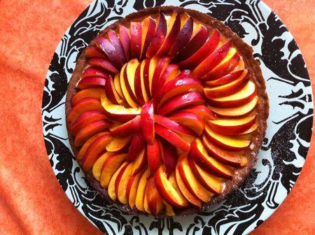 tarte nectarine